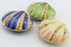pink mother of pearl sea shell jewelry box wholesale price