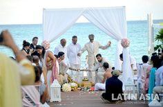#indiandestinationweddings #ceremony #cancun #rivieramaya  @weddingcancun