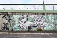 GRAArt, la street art del Grande Raccordo Anulare