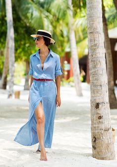 The Prettiest Summer Colors to Wear Now via @WhoWhatWear