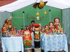 FIRST FESTIVAL MATRYOSHKA in Sergiev Posad