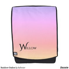 Rainbow Ombre Backpa