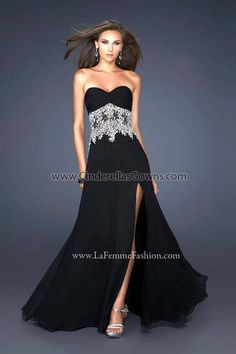 2012 La Femme Evening prom dress 17660