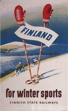 Finland... No wonder I'm such an amazing snow bunny & snowboarder! Finland- My roots!