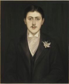 JULY 10 French novelist Marcel Proust born this day in 1871 (died 1922). 'The real voyage of discovery consists not in seeking new landscapes, but in having new eyes'.