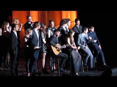 Glee Cast Tribute to Jane Lynch @ Trevor Live 12/8/13 (Full Introduction & Performance) - YouTube