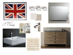 greige: interior design ideas and inspiration for the transitional home : Online design for the bath..