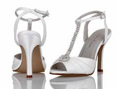 Nina Anastasia Damen Offener Spitze Stoff Pumps Schuhe Neu