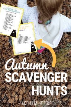 Are you looking for fun fall outdoor activities? Try these printable fall scavenger hunts. They're the perfect family outdoor activity for autumn. | #fall #autumn #takethemoutside #scavengerhunts #printable #toddleractivity #toddlerideas #activityideas #fallactivity