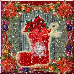 KERSTSOKKEN, kerstanimaties en kerstplaatjes bij Kerst bij Annemiek