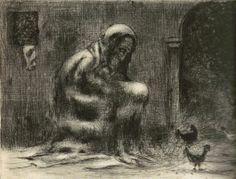 Job VII, suchá jehla, 1940