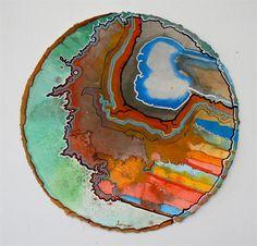 """Water, Water""-Alex Janvier Medicine Wheel, Shape Art, Canadian Art, Indigenous Art, Art Lessons, Mother Nature, Circles, Life Is Good, Abstract Art"