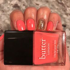 Butter London Trout Pout & FUN Lacquer Paparazzi #manicurediary