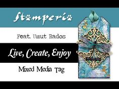 How to Create a Mixed Media Tag