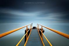 """""""Blue Dusk"""" by Carlos Resende, via 500px."""