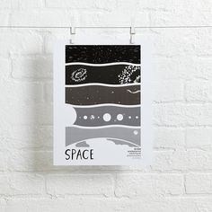 Earth Science Wall Art (Space) | The Land of Nod