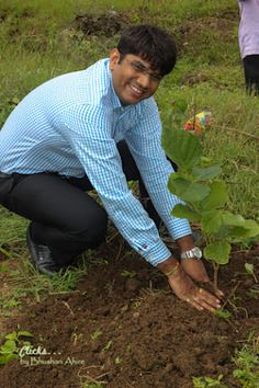 Planting trees helps with lowering stress. Garden Trees, Trees To Plant, Planting, Shrubs, Students, Plants, Tree Planting