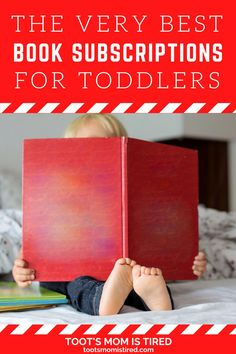 The Best Book Subscriptions For Toddlers | Book subscription services for kids, toddlers, and preschoolers. Book boxes for kids. Picture book box. Toddler Books, Childrens Books, Two Years Old Activities, Book Boxes, Book Subscription, Tired Mom, Experience Gifts, Kids Lighting, Three Year Olds