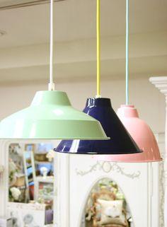 Pendant Lamp(Navy) - インテリアショップ・キノ Interior shop kino:アンティークオブジェやヨーロッパの家具・雑貨