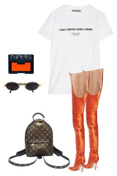 d6e55552d11 by lilikun ❤ liked on Polyvore featuring Off-White