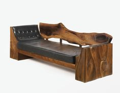 Philip Powell walnut sofa