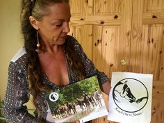 """Connecting in Trinidad & Tobago with Healing with Horses:  When Veronika and Anna met on Skype for the very first time, Veronika mentioned a very unexpected surprise for Anna. """"It's a symbol giving us inspiration,"""" she said. It's been on my desk since 2008 and now look we stand here together, united. I don't go on what I read or the person, I go on what I feel. I was like a child when I first saw your logo. It drew me right in and is so very important. It inspired me to create my logo…"""