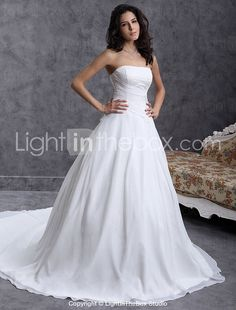 Gorgeous I think couls just get some more embellishment added Cheap Wedding Dresses Online, Wedding Dresses For Girls, Mothers Dresses, Bridal Dresses, Flower Girl Dresses, Bridesmaid Dresses, Wedding Dress Train, Classic Wedding Dress, Chiffon