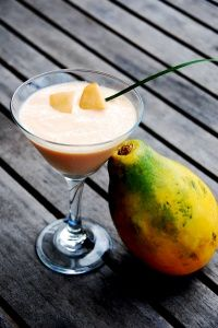 Tropical Papaya Smoothie | Healthy Ideas for Kids