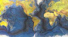 World Ocean Floor Map (C1, W18)