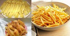 În special pentru amatorii de cartofi prăjiți ca la fast food! Rețeta de gătit acasă este extrem de simplă! INGREDIENTE: -5-7 cartofi tineri; -2 albușuri; -sare – după gust; -boia – după gust; -piper negru măcinat – după gust. MOD DE PREPARARE: 1.Curățați cartofii, tăiați-i pai cu grosimea de 1 cm. 2.Bateți albușurile, până obțineți o spumă. 3.Condimentați cu sare, boia, piper negr și amestecați. 4.Puneți cartofii într-un vas adânc, adăugați albușurile condimentate și amestecați bine, ca…