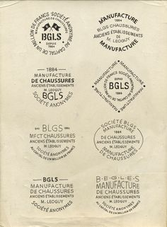 Manufacture de chaussures by BMD Design , via Behance