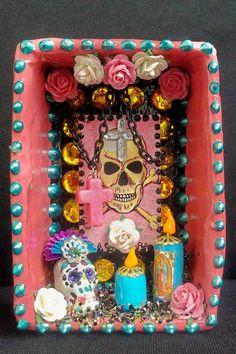 Pink Lotirea Calavera Dia De Los Muertos Mini