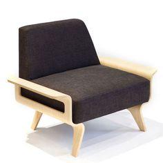 Osaka Chair Napa Smoke #pin_it #design @mundodascasas See more here: www.mundodascasas.com.br