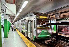 5 of Boston Type 8 Breda Light Rail Cars Rail Transport, Public Transport, Third Rail, Metro Subway, Great Scott, Rapid Transit, Corporate Identity Design, Rail Car, Electric Train