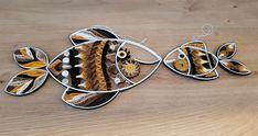 "Quilling ""Africa Fisch Paar"" Maße: Großer Fisch 15 x 24 cm Kleiner Fisch 7 x 14 cm Quilling, Cuff Bracelets, Africa, Jewelry, Pisces, Couple, Random Stuff, Sculptures, Bedspreads"