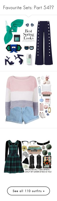 """""""Favourite Sets: Part 54❣️"""" by moon-crystal-wolf ❤ liked on Polyvore featuring Leal Daccarett, Tory Burch, Balmain, Paul Andrew, H&M, NARS Cosmetics, Fendi, Miss Selfridge, Cartier and Bobbi Brown Cosmetics"""