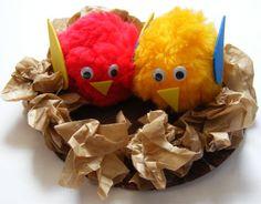 Birds nest craft---Activity Village