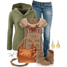 """sweater love"" by pamlcs on Polyvore"