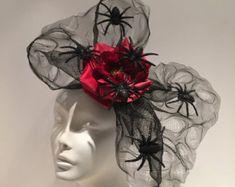 Spider Headband-Black Widow Headband Spider Costume от doramarra