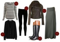 maxi skirt riding boots