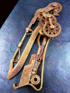 Steampunk pocket knife??? gimmel garden