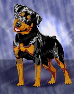 Item Details Shipping & Policies An Digital Art Rendering background color(s) of your choice to match your decor. Pop Art, Rottweiler Puppies, Dog Ornaments, Cane Corso, Dog Portraits, Colorful Backgrounds, Rottweilers, Pets, Decoupage