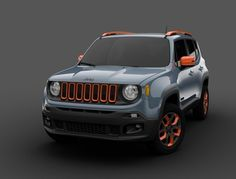 Jeep Renegade Custom for NAIAS - 2016
