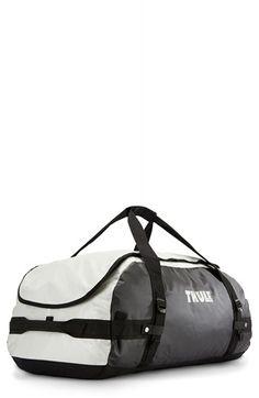 Men's Thule Large Duffel Bag - White (90L Capacity)