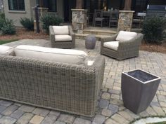 Restoration Hardware Outdoor Patio Provence Collection