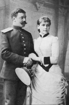 Olga Karnovitsch with her first husband, Erich Gerhard von Pistohlkors. Their marriage would produce four children. Her affair with Grand Duke Paul caused a scandal after she bore Grand Duke Paul a son, Vladimir, in 1897. Her husband petitioned for divorce soon after. In 1902, Grand Duke Paul did the unthinkable and married his mistress.
