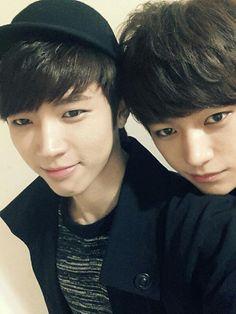 Infinite - Woohyun and Myungsoo
