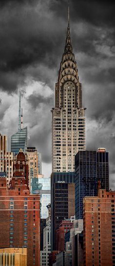 architecture US : Chrysler Building, 1930, New York, gratte-ciel