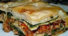 Dzisiaj kolejna propozycja obiadowa. To moja druga lazania jaką robiłam. Przyznam, że jest przy tego typu daniach trochę roboty, ale warto. ... Salmon Burgers, Hamburger, Sandwiches, Dinner Recipes, Food And Drink, Pizza, Snacks, Ethnic Recipes, Pierogi