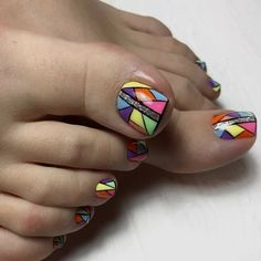 We decorate the legs with beautiful and stylish pedicures - new photo . Pretty Toe Nails, Cute Toe Nails, Toe Nail Art, Gel Nail, Toenail Art Designs, Pedicure Designs, Acrylic Nail Designs, Manicure, Pedicure Nails
